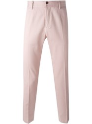 Dolce And Gabbana Chino Trousers Pink And Purple