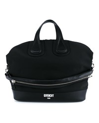 Givenchy Nightingale Top Handle Bag Black White