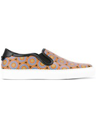 Givenchy Egyptian Print Low Top Sneakers Black