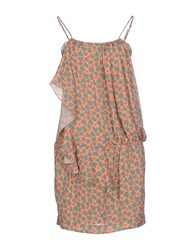 Gold Case Sogno Dresses Short Dresses Women Khaki