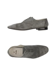 Fabi Footwear Lace Up Shoes Men Grey