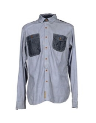 Prps Goods And Co. Shirts Blue