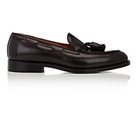 Alden Men's Apron Toe Tassel Loafers Burgundy Brown Burgundy Brown