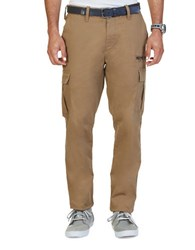 Nautica Slim Fit Cargo Pants Oyster