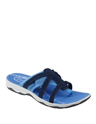 Easy Spirit Yiska Thong Sandals Navy Blue