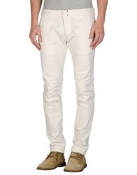 Messagerie Denim Pants White