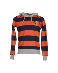 Cycle Topwear Sweatshirts Men Orange