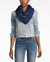 Bcbgeneration Thick And Thin Infinity Loop Scarf A Macy's Exclusive Style Deep Blue
