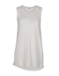 Equipment Femme Sweaters Light Grey