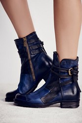 A.S.98 Burke Patchwork Moto Boot