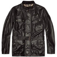 Belstaff Panther Leather Jacket Black