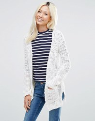 Blend She Cardigan Snow White