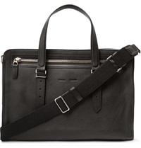 Proenza Schouler Hoyt 24 Hour Leather Holdall Black