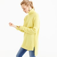 J.Crew Collection Italian Cashmere Mohair Turtleneck Sweater