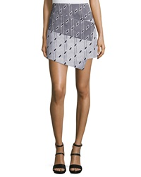 Cameo Crossing Borders Mini Skirt Geo Print