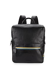 Uri Minkoff Anto Perforated Leather Backpack Black