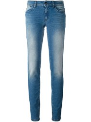Just Cavalli Low Rise Skinny Jeans Blue