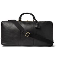Mulberry Medium Clipper Leather Holdall Black