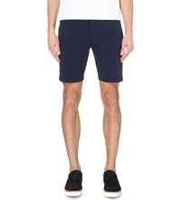 Hugo Boss Leisure Slim Fit Bermuda Shorts Navy