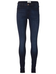 Selected Gaia High Rise Skinny Jeans