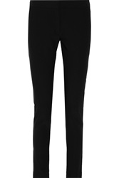 Stella Mccartney Stretch Crepe Skinny Pants Black