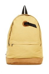 Saturdays Surf Nyc Hannes Backpack Yellow