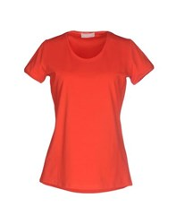 Bruno Manetti Topwear T Shirts Women Red