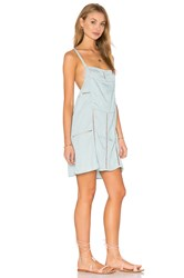 Obey Concrete Beach Dress Baby Blue
