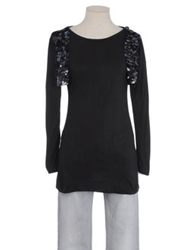 Angelina Long Sleeve T Shirts Black