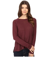 Bench Base High Low Sweater Sassafras Women's Sweater Brown