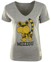 Retro Brand Women's Missouri Tigers Graphic T Shirt Gray
