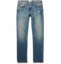 Frame Denim L'homme Slim Fit Distressed Denim Jeans Blue