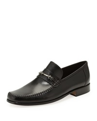 Bruno Magli Pittore Leather Loafer Black