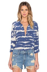 Gypsy 05 Long Sleeve Button Up Blue