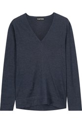 Tom Ford Cashmere Top Midnight Blue