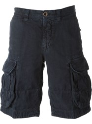 Incotex Cargo Shorts Blue