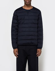Nanamica Down Pull Over Navy