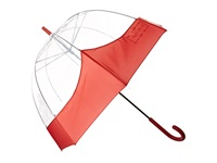 Hunter Original Moustache Bubble Military Red Umbrella Tan