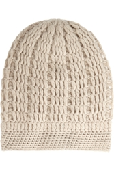 Madeleine Thompson Maddy Cable Knit Cashmere Beanie