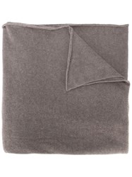 Liska Knit Scarf Grey