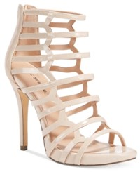 Call It Spring Astausien Caged Dress Sandals Women's Shoes Nude