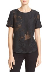 Equipment Women's 'Riley' Fil Coupe Cotton And Silk Tee