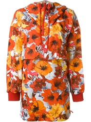 Adidas By Stella Mccartney 'Run Blossom Flower' Parka Multicolour