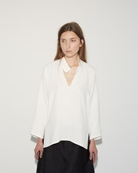 Sofie D'hoore Broox Silk Top White