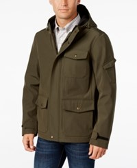 G.H. Bass And Co. Men's Utility Rain Coat Olive