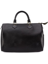 Louis Vuitton Vintage 'Speedy 30' Tote Black