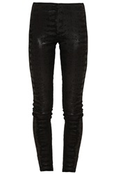 2Nd Day Lamb Suede Skinny Trouser