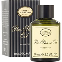 The Art Of Shaving Men's Pre Shave Oil Unscented No Color