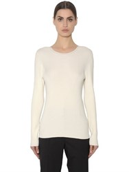 Sportmax Crewneck Rib Knit Sweater