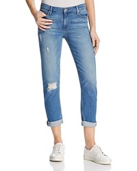 Black Orchid Hipster Crop Boyfriend Jeans In Crop Out Drop Out